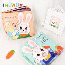 IMBABY, libro de tela para bebés, juguetes educativos para bebés de 0 a 12 meses, juguetes para niños pequeños, libro silencioso, libro de desarrollo, rompecabezas, libro de tela, regalo para recién nacidos
