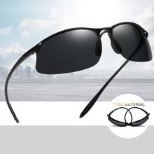 2021 Anti-UV Driving Men Shades Male Military Sun Glasses Top Ultralight TR90 Polarized Sunglasses