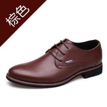 Spring Casual Mens Shoes Anti Slip Business Men Shoe Comfortable Dress Shoes For Men Good Quality Men Leather Shoes For Suit