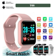 Smartwatch Smart Digital Watch for Men Women with Bluetooth Call Reminder Remote Camera Heart Rate Monitoring Sport Wirstwatch