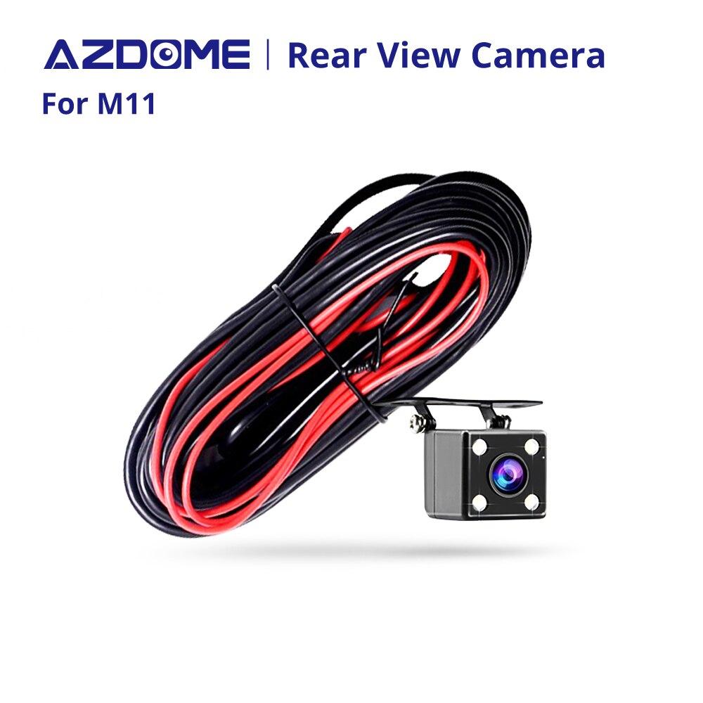 Cámara de visión trasera solo para M11 Car DVR dash Camera 2,5mm (4Pin) Puerto Jack Video con LED de visión nocturna impermeable
