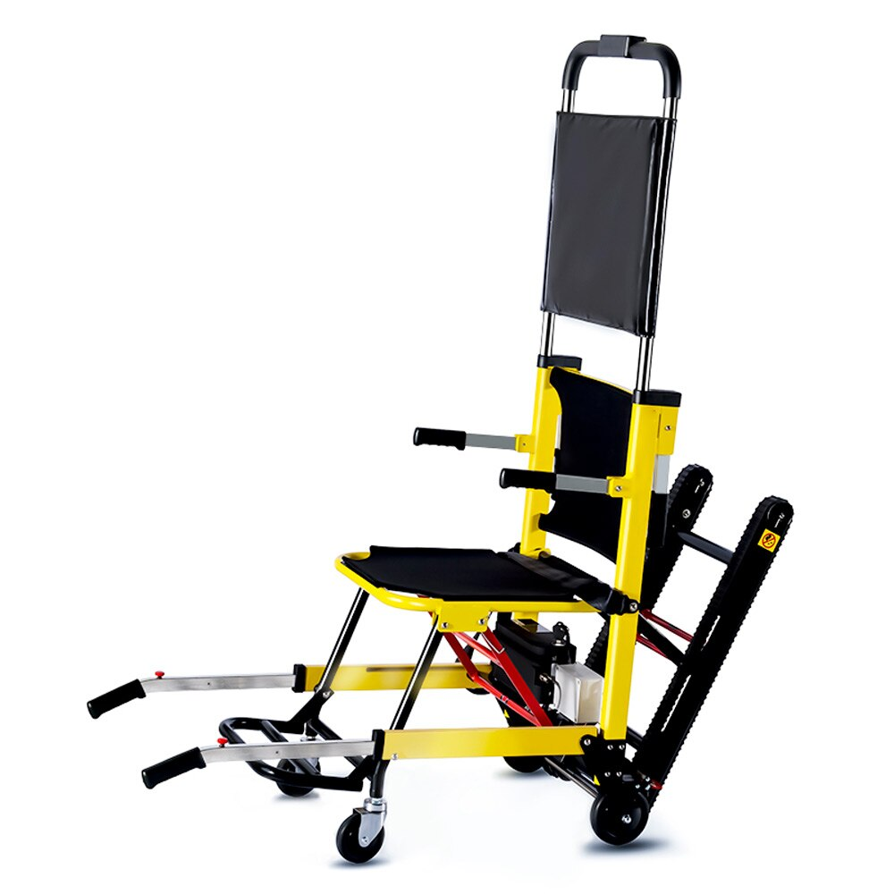 150KG Electric Folding Climbing Wheelchair Up and Down Stairs Portable Climber Machine for Elderly Disabled enlarge
