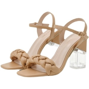 Crystal High Heels Women's Shoes Sandals Summer Fashion Style Thick Heel Crystal Sandals Women