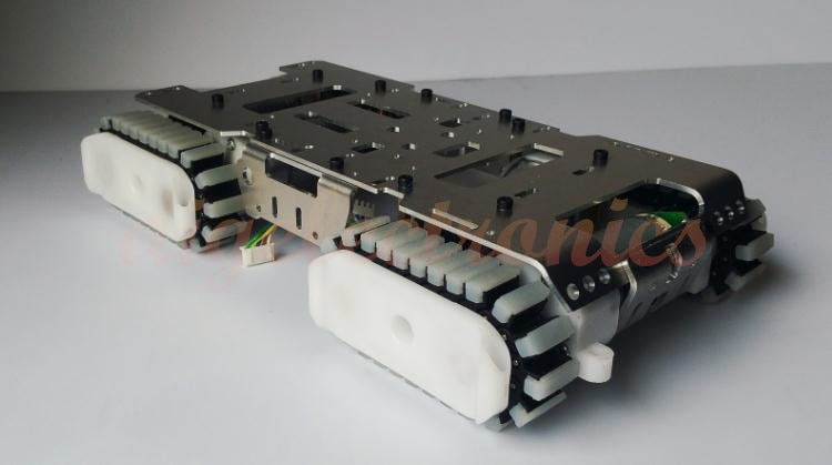 Smart Robot Tank Chassis Tracked  Caterpillar Crawler Car Platform with 4 Motor for Arduino Climbing DIY Robot Modified Toy Part