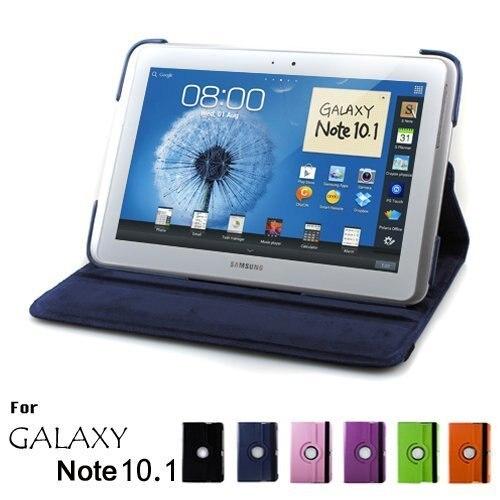 Магнитный чехол для Samsung Galaxy Note 10,1 2012 GT-N8000 N8000 N8010 N8020, чехол для планшета, вращающийся на 360 градусов Чехол-книжка с подставкой, кожаный чехол чехол