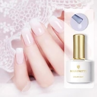 born pretty 10ml milky jelly gel nail polish white semi transparent nail art soak off uv gel polish long lasting gel varnish