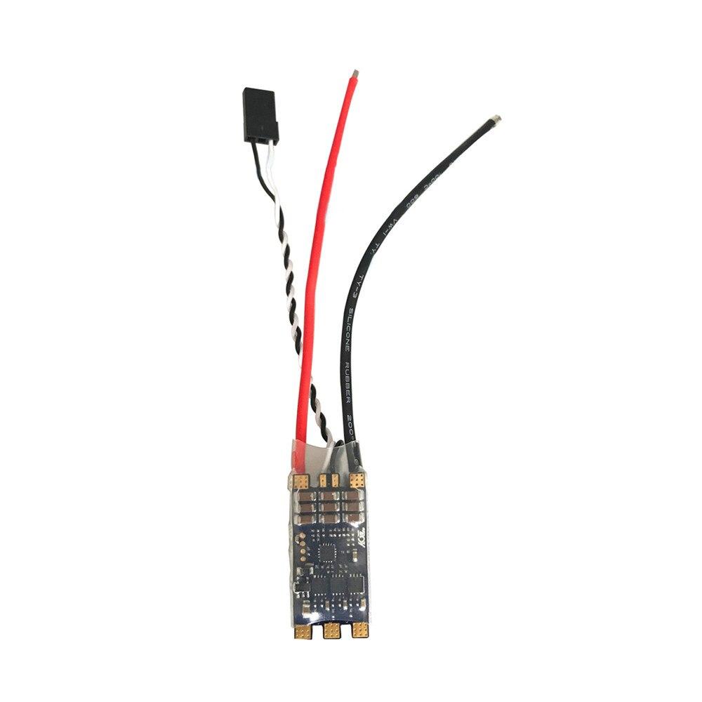 Doble Vía ESC M080 30A ROV impulsor subacuático controlador electrónico de velocidad 3-6S Lipo ESC para RC cebo barcos eléctricos remolcadores