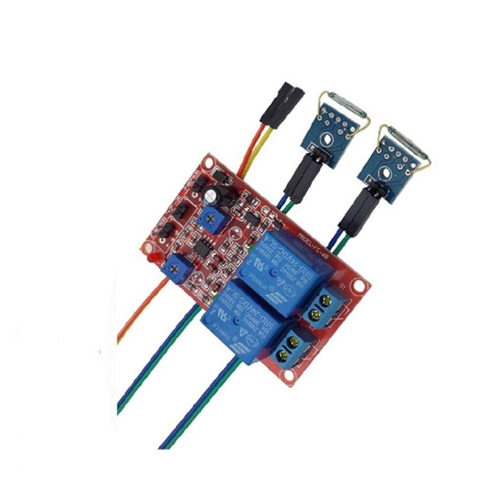 Taidacent 5V 24V 12V Герконовое реле контакты миниатюрный автоматический 2 Каналы Мощность геркон Магнитное реле для автомобильных кабельных систе...