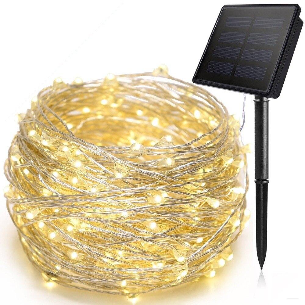 10/20M 100/200 LED luces de navidad adornos navideños para el hogar al...