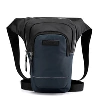 New Leisure Outdoor Sport Leg Thigh Pack Men Riding Waist Fanny BagTactical Night Reflective Chest Sling Packs Shoulder Bags