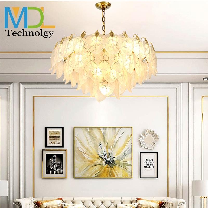 luz moderna lustres de cristal luxo sala estar lampada quarto restaurante hotel nordic lustres