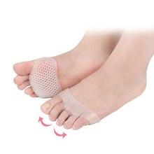 1 paar Silikon Kissen High Heels Anti-Relief Fußpflege Vorfuß Halbe Elle Unsichtbare Gel Sohle Atmungsaktive drop
