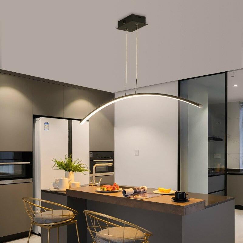 Modern LED Pendant Lights For study Kitchen Dining Living Room Cord Hanging Lustre Indoor Lamps light fixtures