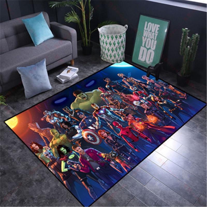 سجادة لعب للأطفال ، 80 × 160 سنتيمتر ، سجادة سبايدرمان قابلة للغسل لغرفة المعيشة ، سجادة أرضية لغرفة نوم الأولاد