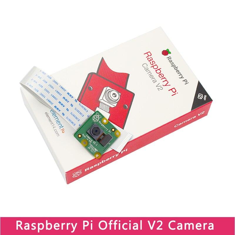 Оригинальная официальная камера Raspberry Pi 4 V2 IMX219, камера 8 МП для Raspberry Pi Model 4B/3B +/3B, совместимая с Nano Nvidia Jetson