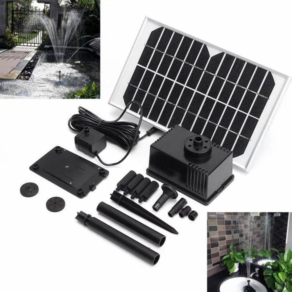 12 فولت 5 واط نافورة شمسية مضخة مياه المباشر الحالي فرش لوحة طاقة شمسية الطاقة حديقة بركة حمام سباحة حوض مضخة مياه صغيرة