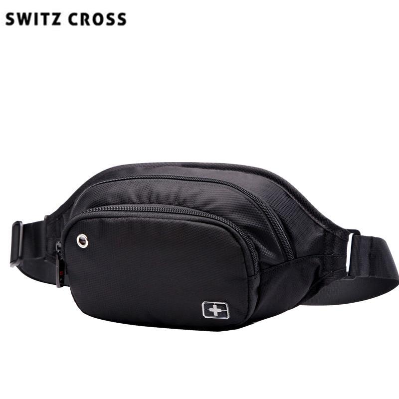 swiss bag for men women pack waist Bags girls fanny packs Hip Belt Bags Money Travelling Mountaineering Mobile Phone Bag