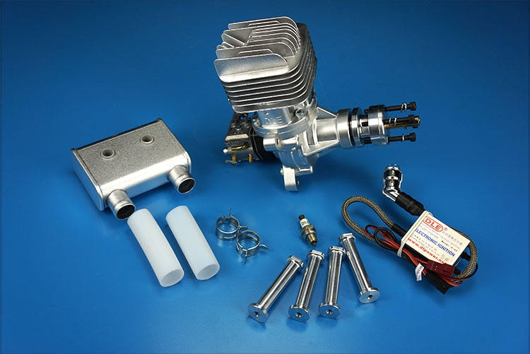¡Oferta! Motor de GAS DLE 55 RA original para aeroplano RC, DLE55RA,DLE, 55RA,DLE-55RA