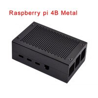 Raspberry Pi 4B Aluminum Case Metal Enclosure for RPI 4 Model B Compatible with Raspberry Pi 4B