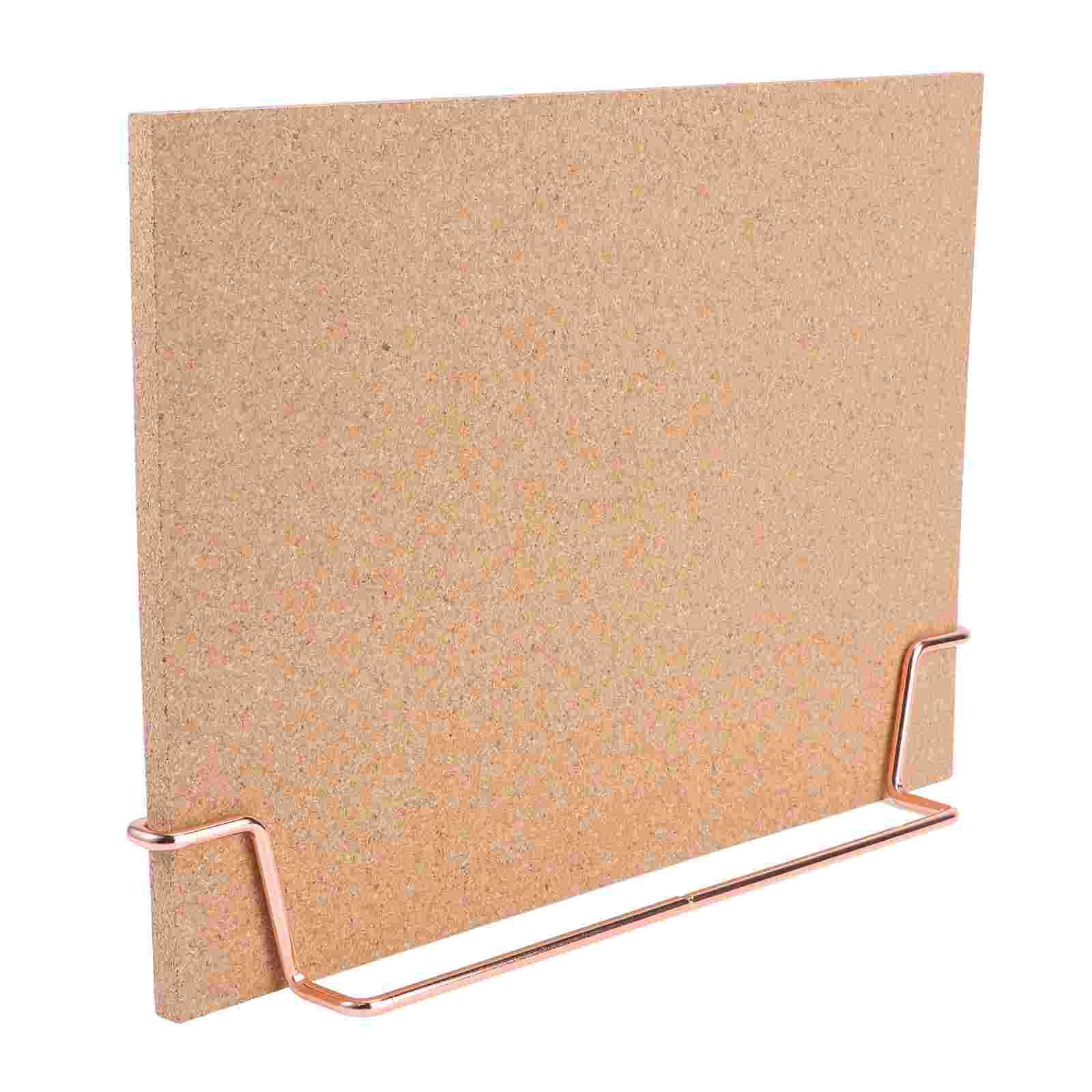 Пробковая доска, доска для объявлений, доски для объявлений, деревянная доска для записей, доска для объявлений для дома и офиса (розовое зол...