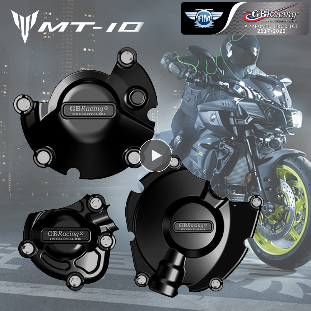Motorcycles Engine Cover Protection Case for Case GB Racing for YAMAHA MT-10 MT10 2015-2021 2018 2019 Accessories Engine Parts