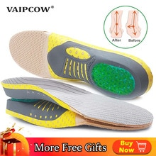 Orthopedic Insoles Orthotics Flat Foot Health Sole Pad For Shoes Insert Arch Support Pad For Plantar