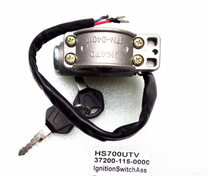 Bloqueio de igniton apto para hs700atv/utv código é 37200-115-0000