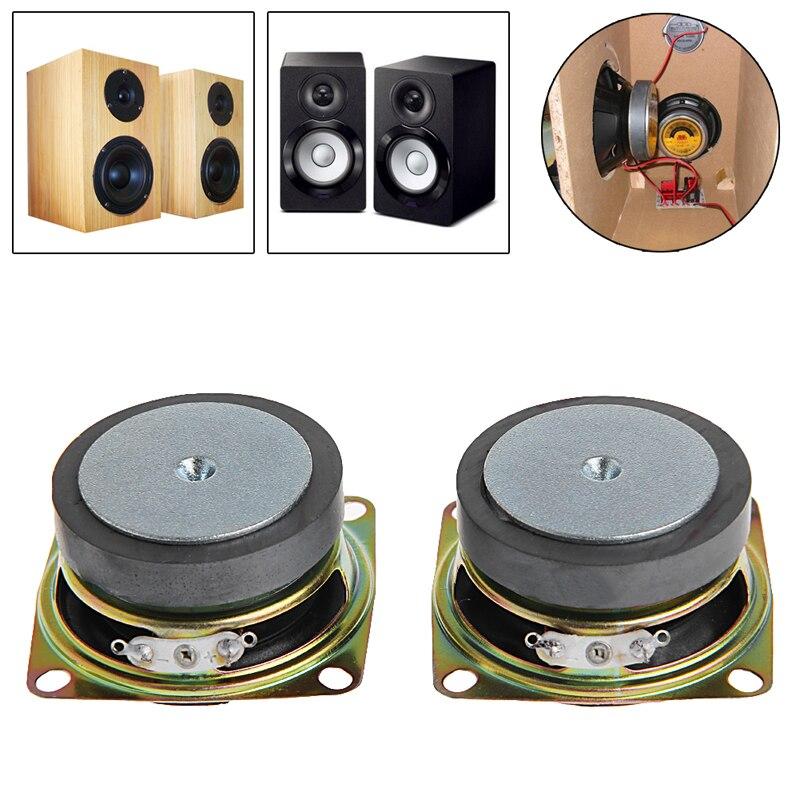 "2 uds. Altavoz de 2 "", 4 Ohm, 3 W, gama completa para Mini altavoces estéreo, caja de accesorios"