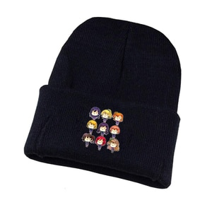 Anime Lovelive Knitted Hat Cosplay Hat Unisex Print Adult Casual Cotton Hat Teenagers Winter Knitted Cap