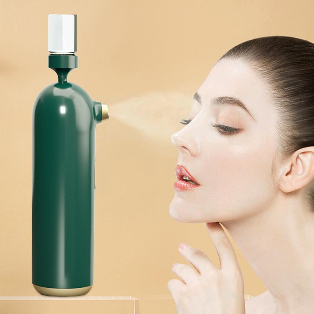 جهاز حقن الأكسجين المحمولة المحمولة رذاذ الجمال أداة الأكسجين رذاذ الماء الملحق بندقية V9A2