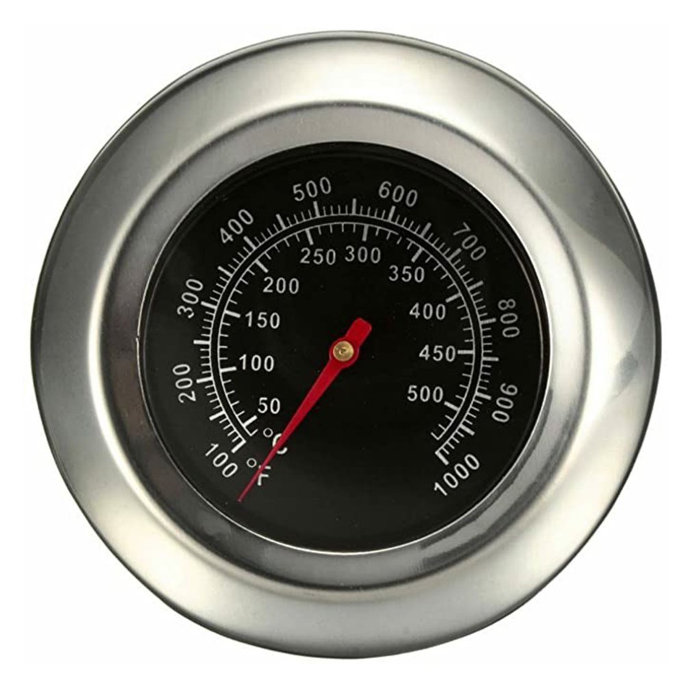 X-3G-2 50 50 500 graus bimetálico churrasco termômetro leve resistência de alta temperatura assado grill termômetro medidor temp