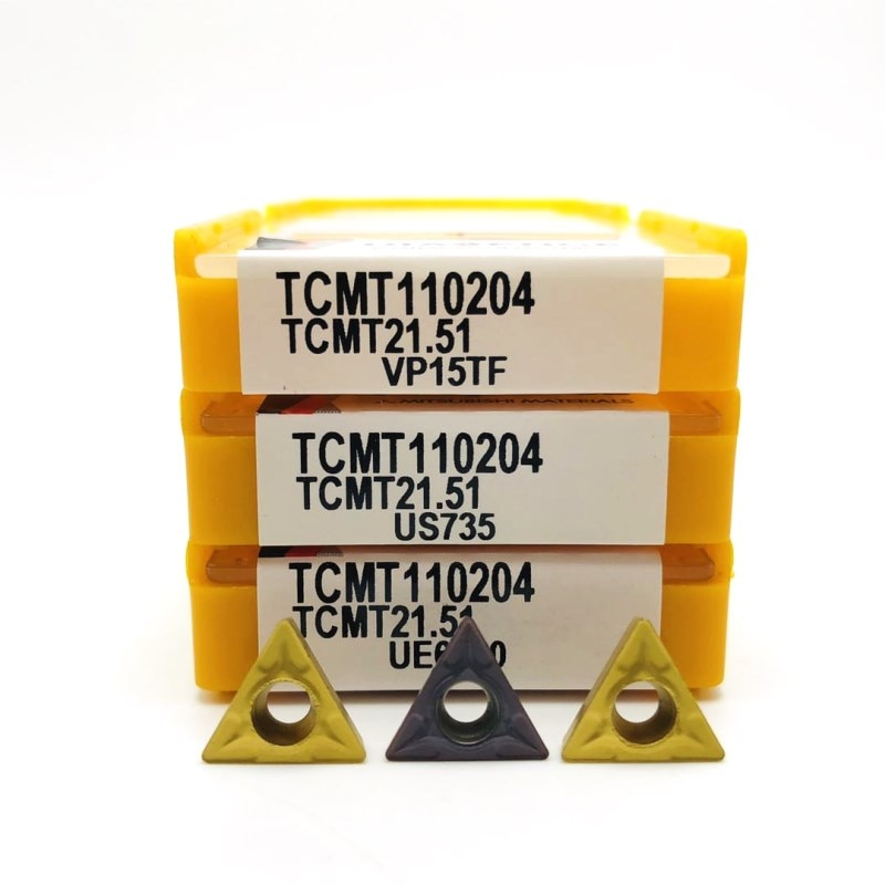 Carbide insert TCMT110204 VP15TF UE6020 metal turning tool external turning tool TCMT 110204 tungsten carbide turning tools tcmt110204 tm hp1025 carbide inserts internal turning tools tcmt 110204 cutting tool cnc tools lathe cutter