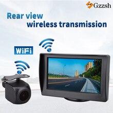 Caméra avec transmission sans fil intégrée   Écran hd et 4.3 pouces, moniteur pour BMW Toyota Audi Mercedes Benz, caméra arrière spéciale