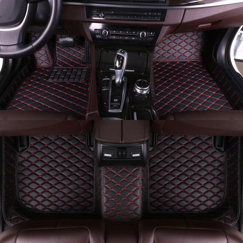 Custom Car Floor Mats for Mazda All Models mazda 3 Axela 2 5 6 8 atenza CX-7 CX-3 MX-5 CX-8 CX-30 CX-5 CX-9 CX-4 auto styling