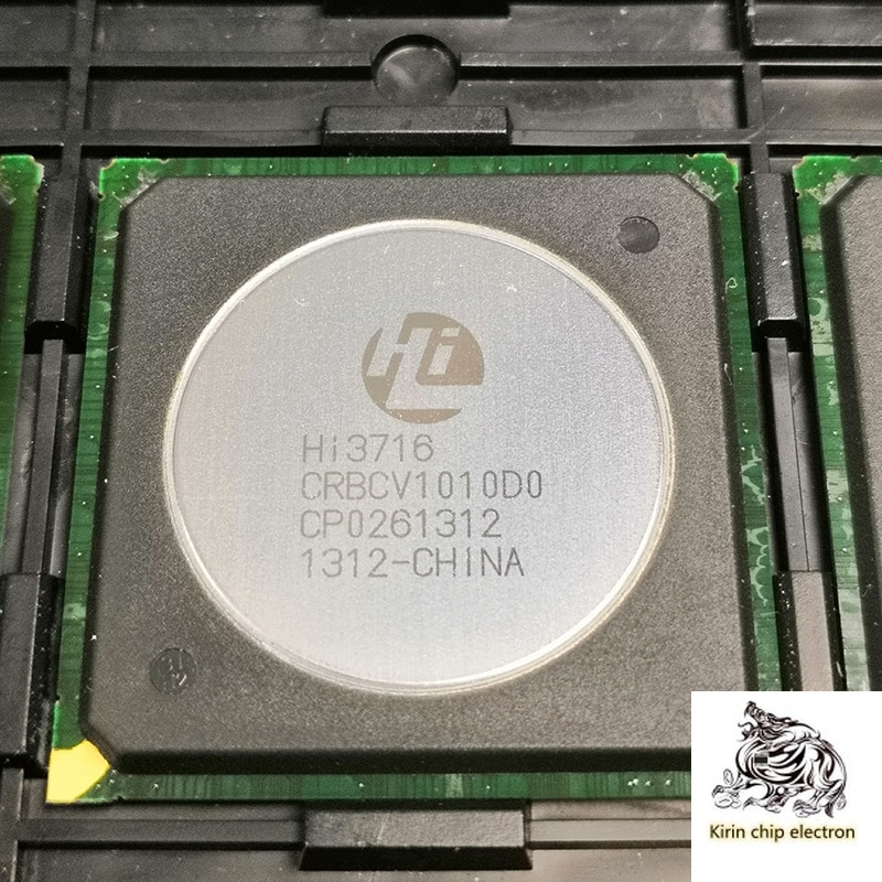 5 unids/lote hi3716crbcv1010d0 paquete BGA LCD chip de control principal es completamente nuevo