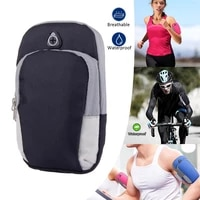 sports armband bag outdoor fitness universal phone holder waterproof reflective sport bag case arm band outdoor accessories