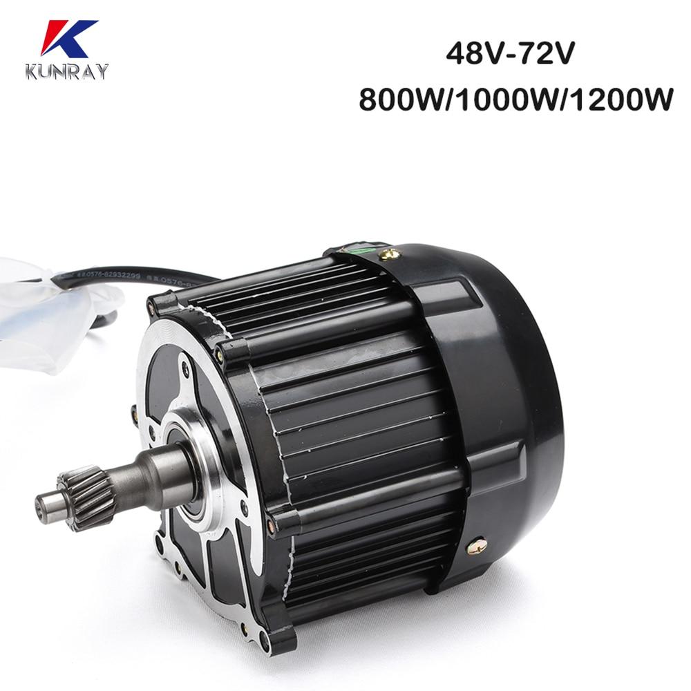 Motor eléctrico sin escobillas Para Bicicleta, 48V, 60V, 72V, 500W, 650W, 800W,...