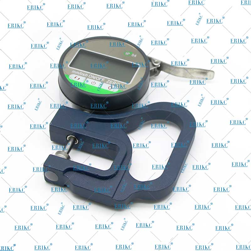ERIKC 0.001mm Electronic Thickness Gauge 10mm Digital Micrometer test tools Manual micrometer With RS232 Data Output enlarge
