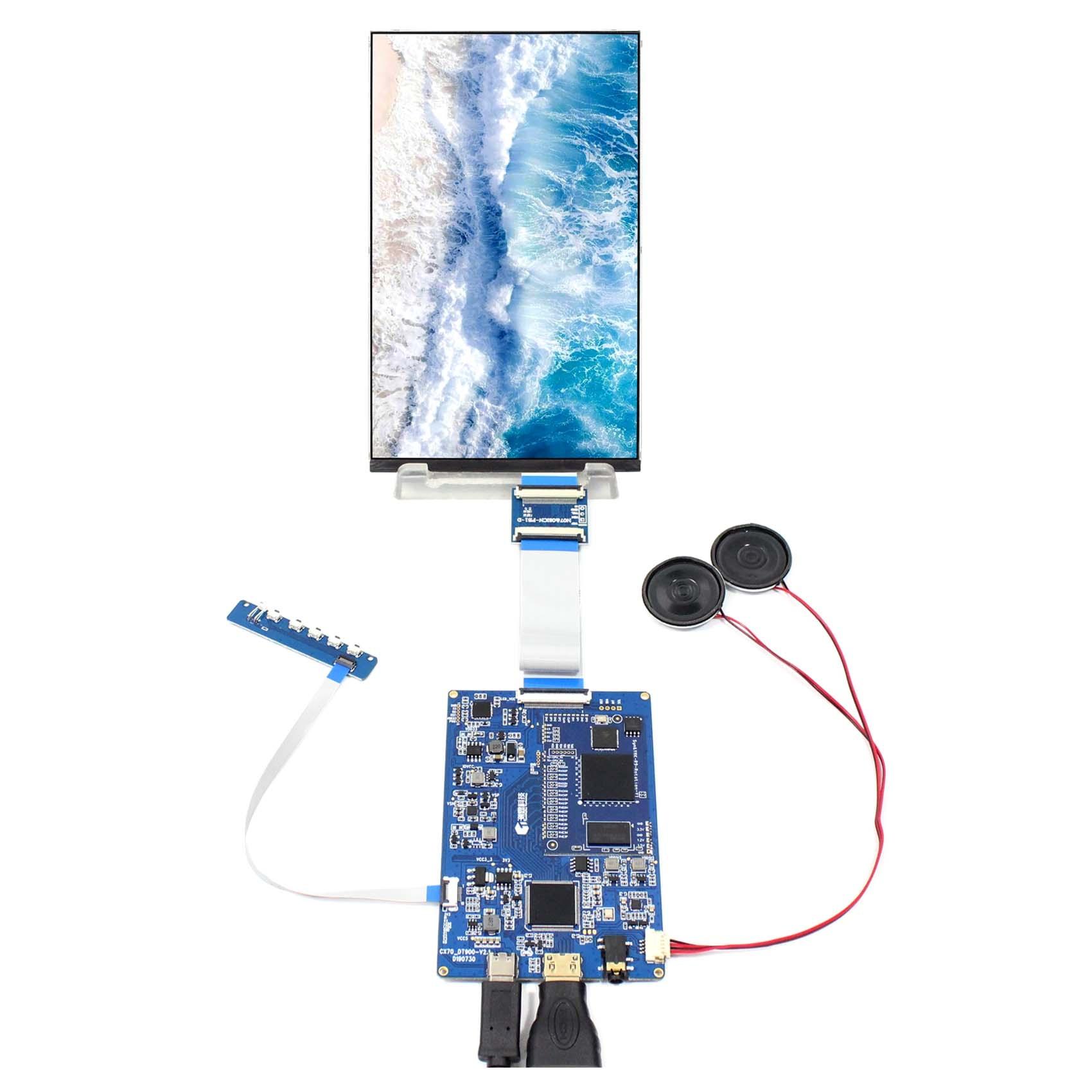 7 inch 1200X1920 LCD Screen display HX7002A  with H DMI Controller Board