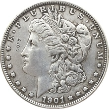 1901-S USA Morgan Dollar coins COPY