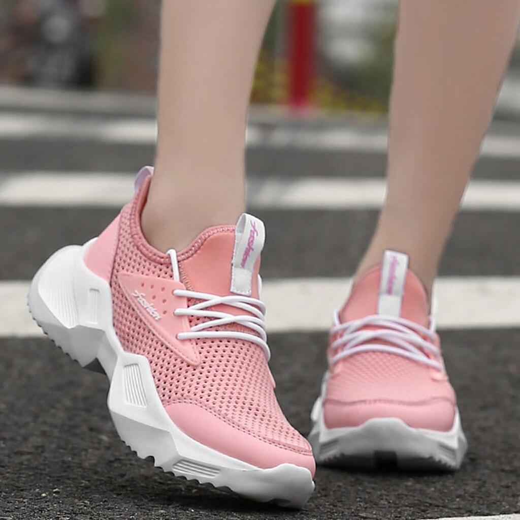 Zapatillas de tenis para Mujer, Calzado Deportivo ligero y transpirable para correr,...