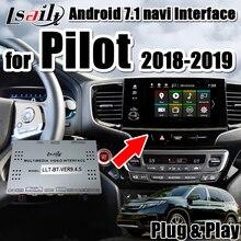 Interface vidéo multimédia Android 7.1   Pour 2018- 2019 Honda Pilot avec google play, mirrorlink, interface carplay
