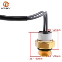 possbay high quality motorcycle water temperature radiator fan switch for suzuki ux125 uh200 2007 2008 temperature sensor