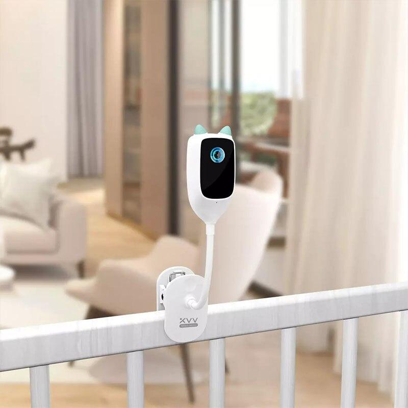 Monitor de Câmera de Segurança Detecção de Movimento Youpin Xiaovv Inteligente Bebê Alarme Grito 1080p hd Segurança Webcam ir Visão Noturna