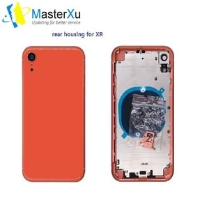 AAA+ Quality Original Material Battery Door Alternative for iPhone XR A2106 Housing Rear Cover Chassis Body Middle Frame Replace