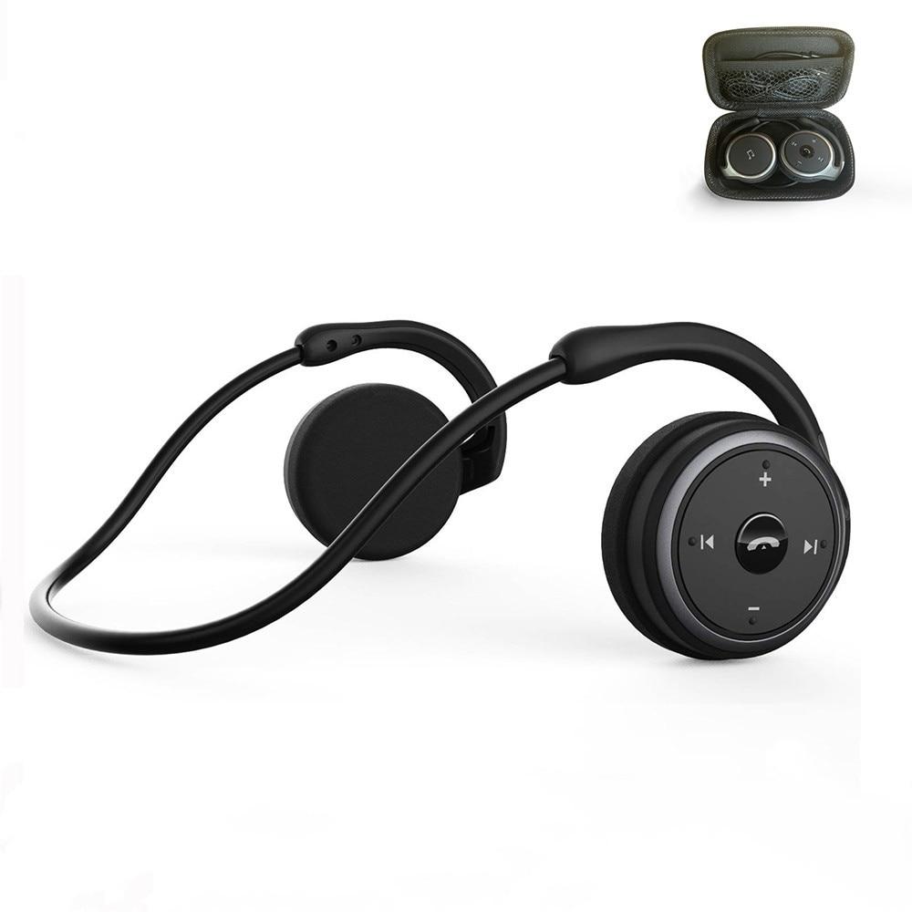 2019 New Mitvaz A6 (Ax-698 Upgrade Version) hot Sale Bluetooth 5.0 Sport Running Headphones Portable Wireless Headphones