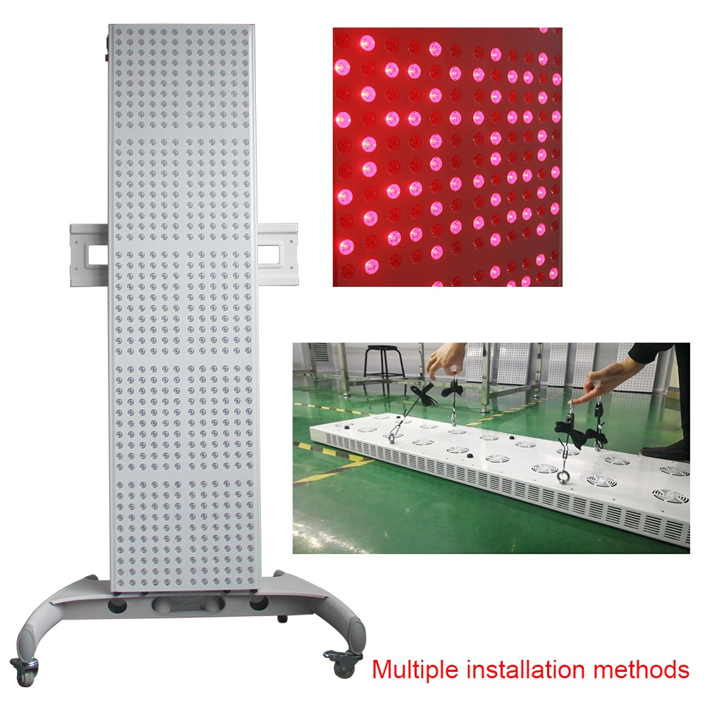 Collagen Led Therapy Light 300W 660nm 850nm Full Body Red Light Therapy Panel for Health Beauty Care