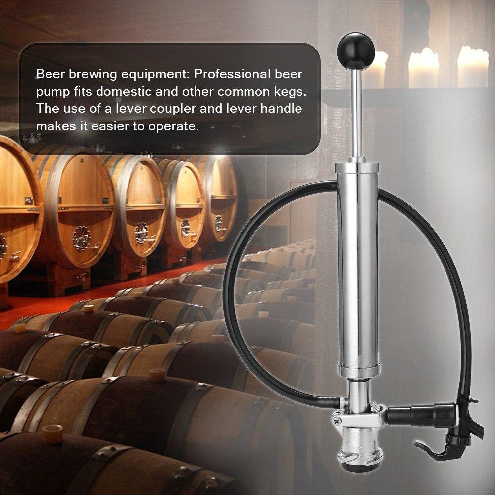 Пивной насос для бочонка отличного качества, простой и практичный способ использования, подходит для домашнего пива, подходит для вечерино...