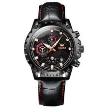 2021 New Watch for Men Top Brand Luxury Men Wrist Watch Leather Quartz Watch Sports Waterproof Fashi