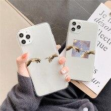 Chaud Drôle doigt motif Étuis de Téléphone Pour Samsung S20 S10 S8 S9 plus A40 A50 A70 S10e A51 A71 A30 Note 20 10 8 9 plus Couverture Souple